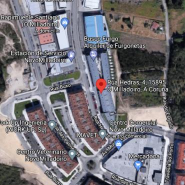 Mapa Ubicación_A_Proa_Rua-Hedras-4-Google-Maps